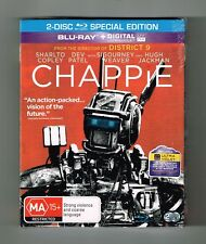 Chappie : Blu-ray 2-Disc Special Edition Brand New & Sealed