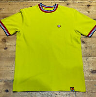 Trojan Records Tee - Trojan Records Men's TC1013 Tipped Crew T Shirt Pistachio