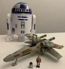 1995 Star Wars LGTI Micro Machine Action Fleet X-WING Fighter R2D2/Luke Playset