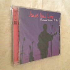 JANIS IAN LIVE 2 CD WORKING WITHOUT A NET OBR-026 2003 ROCK