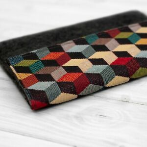 Felt Tablet Bag Case Cover for Samsung Galaxy Tab S7 A7 S6 S5e Handcrafted in UK