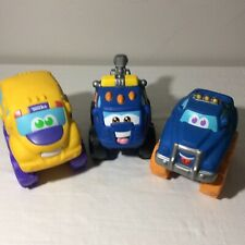 *RARE* TONKA ~ Chuck and Friends ~ Talking Car & Truck Lot Of 3