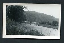 C1950's Original Photo of the Bridge over River Wye near Tintern, Wales