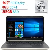 HP 14 in Laptop i5 1035G1 1.0GHz 8GB SDRAM 256GB SSD +16GB Intel Optane Win 10