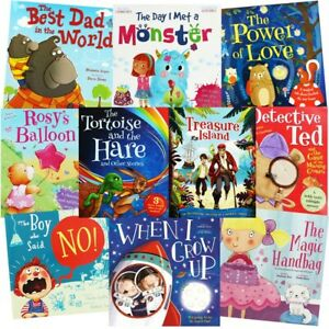 Bedtime Story Adventures: 10 Kids Picture Books Bundle, Books, Brand New