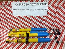 TOYOTA GENUINE OEM TUNDRA 2007-13 4WD DOUBLE CAB FRONT AND REAR BILSTEIN SHOCKS