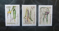 2016 LUXEMBOURG VEGIES OF YESTERYEAR SET OF 3 MINT STAMP MNH
