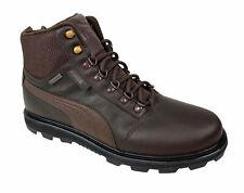 Puma Men's Tatau Fur Closed Toe Ankle Fashion Boots Brown Size 11