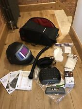 SPEEDGLAS 9100xx Fx WELDING HELMET ,  NEW 3M LITHIUM ADFLO, With Extras