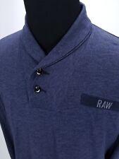 G-STAR RAW Gilik Shawl-Collar Long Sleeve T-Shirt Men's XXL 2XL I18