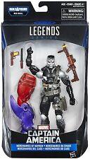 """Marvel Legends Series Mayhem SCOURGE Demolition Man 6"""" Figure BAF Red Skull NEW"""