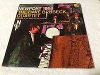 LP DAVE BRUBECK QUARTET NEWPORT 1958 ORIGINAL VINYL COLUMBIA PURPLE LABEL (M)