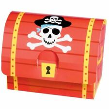 8pk Pirate Party Pirate Treasure Favour Boxes Birthday Party Favours Loot