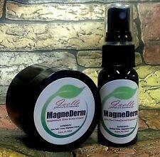 Homeopathic Magnesium Chloride Cream & Oil sleep,pain,stress,restless leg RLS