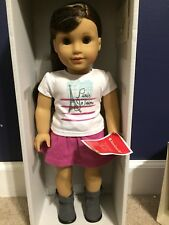"""AMERICAN GIRL GRACE THOMAS - DOLL OF THE YEAR 2015  - 18"""" NEW IN BOX  Fast Ship!"""