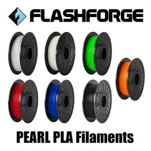 Flashforge PEARL PLA 3D Printer Filament 1.75mm 0.5KG -Tough PLA-Polyester Blend