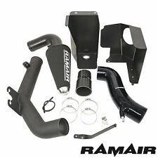 Ramair Cone Air Filter Intake Induction Black Silicone Hose Crossover Pipe ST180