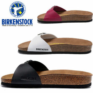 Birkenstock Madrid Patent Birko-Flor Womens Sandal in Various Colours and Sizes