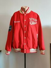 Vintage jacket Detroit Red Wings Retro NHL Red Winter Classic Coaches Mens 2XL