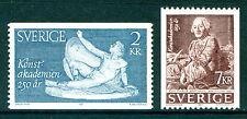 Art, Artists Single Swedish Stamps