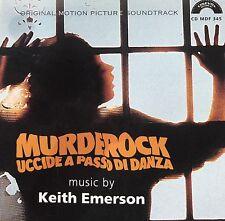 KEITH EMERSON - MURDEROCK UCCIDE A PASSO DI DANZA -  Soundtrack CD