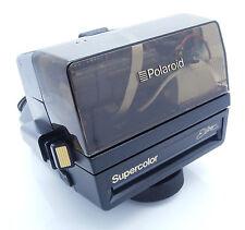 Rare Polaroid Supercolor Elite with Transparent Top 600 Instant Film Camera+Box
