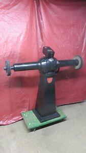 "us electrical tool co heavy duty industrial long arm buffer 1-1/4"" arbor 54"" 3hp"