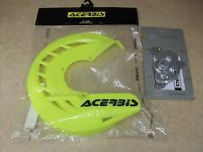 ACERBIS X-BRAKE FRONT BRAKE DISC GUARD COVER + MOUNTING KIT SUZUKI RMZ 250 450