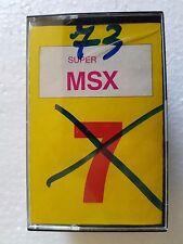 Msx SUPER msx n.7