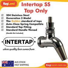 Intertap SS Tap Only Stainless Steel Forward Sealing Beer Cider Nitro Cocktails