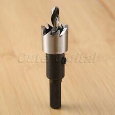 16mm HSS Carbide Holesaw Drill Bit Cutter Cutting Metal Alloy Stainless Steel