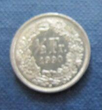 """Münze 1/2 Schweizer Franken 1990 """"B"""" aus Umlauf gültiges Zahlungsmittel Sammler"""