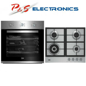 Brand new Beko Built-in Electric Oven & Gas Cooktop Pack BCPGCF1