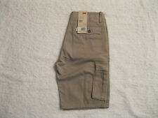 Men's Levis Ace Relaxed Fit Cargo I Shorts Tan Color NEW Size 29 NWT