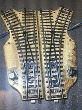 Marklin voie M 5117 paire d'aiguillages électromagnétique ancien modèle