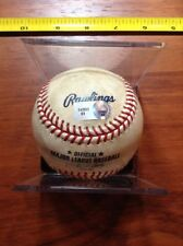 2007 Seattle Mariners vs Kansas City Royals MLB Game Used Baseball COA Sticker