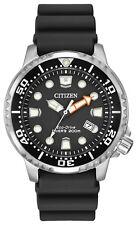 Citizen BN0150-28E Men's Promaster Professional Diver PU Band Black Dial Watch