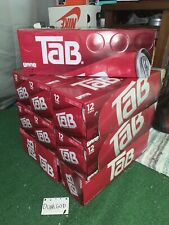Tab®️ Cola Fridge Pack 12-Pack Soda Soft Drinks 12 fl oz - Sealed Mint Box