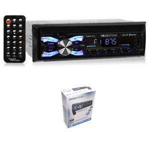 Soundstream 300 Watt Single DIN Digital Media Player w/ USB Playback & Bluetooth