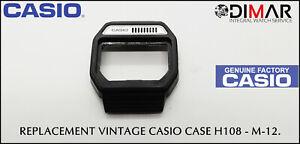 Vintage Ersatz Gehäuse / Packung Casio, H108 - M-12