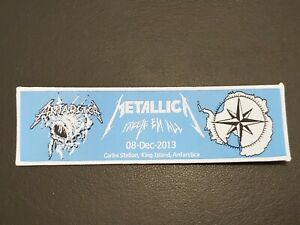 Metallica Freeze EM All Band patch t-shirts, Jeans Iron on Clothing Woven Badge