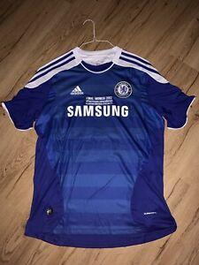 Chelsea 2012 Champions League Final Didier Drogba Short-Sleeve Jersey