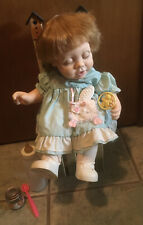 Hasbro My Real Baby Doll J Turner Vintage Weighted Sleeping Baby w/Accessories