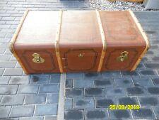 Antik Vintage Überseekoffer  Holz