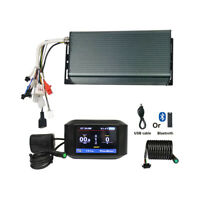 48V-72V 3000W-5000W 100A Sine Wave Controller+Color LCD For eBike Electric Bike