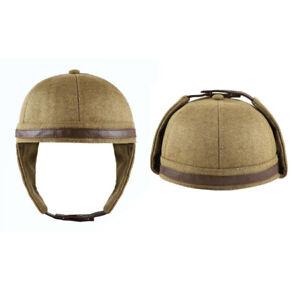 US! Men's Newfangled Bomber Hat Earmuffs Cap Outdoor Warm Ear Flap Bowler Style