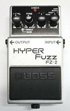 BOSS FZ-2 HYPER Fuzz Guitar Effects Pedal 1996 #99 DHL Express or EMS