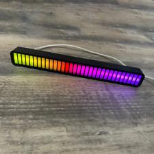 LED Strip RGB Voice-Activated Pickup Lamp Rhythm Light Music Level Light Novelty