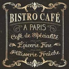Parisian Sign Paris Bistro Cafe by Pela Studio Fine Art Print Home Decor 792732