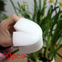 50 Pcs Cleaning Magic Sponge Eraser Melamine Cleaner Home New